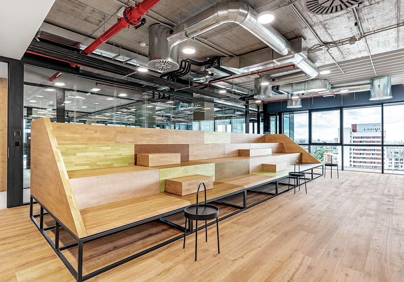office Sumup floor 10 by MMXX architects